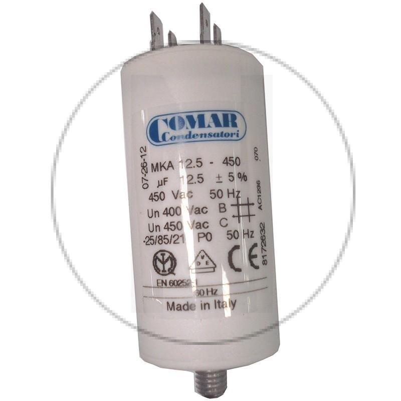 Condensateur permanent à cosse 12.5 µF COMAR