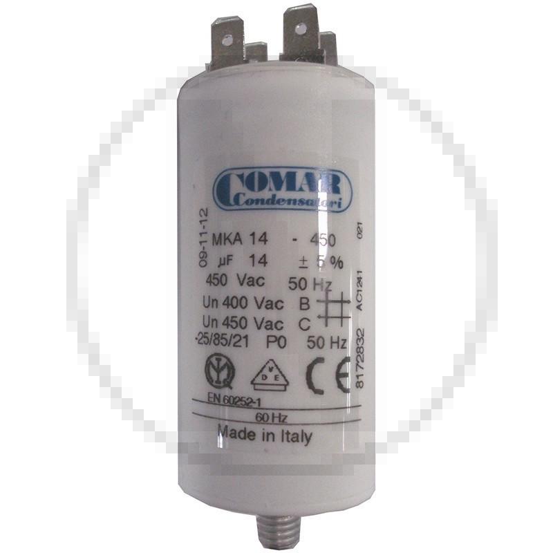 Condensateur permanent à cosse 14 µF COMAR