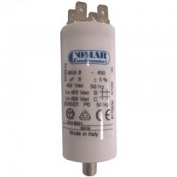 Condensateur permanent à cosse 8 µF COMAR