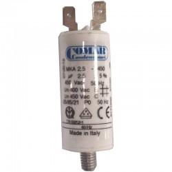 Condensateur permanent à cosse 2.5 µF COMAR