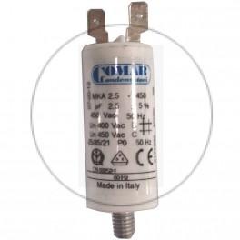 Condensateur à cosse 2.5 µF...