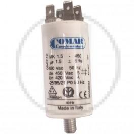 Condensateur à cosse 1.5 µF...