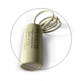 Condensateur moteur 3.5 µF - Sortie Fil souple