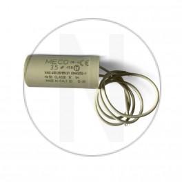 Condensateur moteur 3.5 µF - Sortie Cable