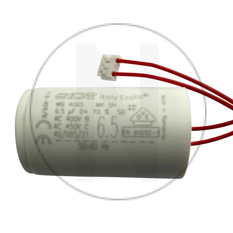 copy of Condensateur 6.5 µF pour volet roulant Bubendorff avec connecteur