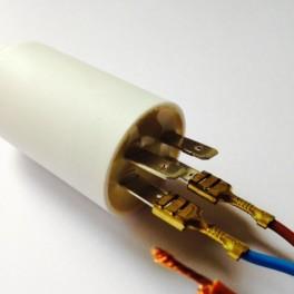 Condensateur moteur à cosses 40 µF  450VAC  Icar Ecofil WB40400