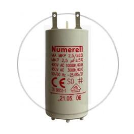 Condensateur à cosse 2,5 µF - compatible volet roulant SOMFY