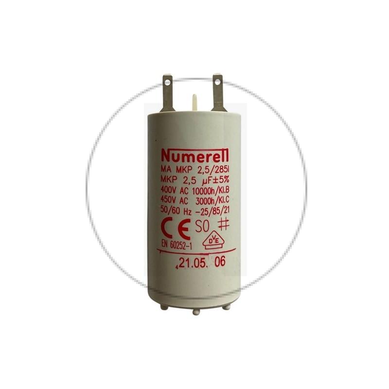 Condensateur à cosse 2,5 uF