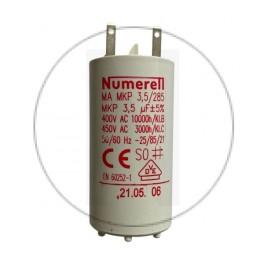 Condensateur à cosse 3,5 µF - compatible volet roulant SOMFY
