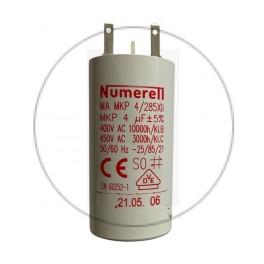 Condensateur à cosse 4 µF - compatible volet roulant SOMFY