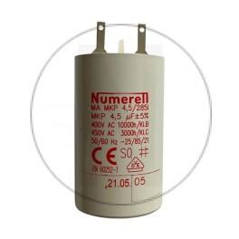 Condensateur à cosse 4.5 µF - compatible volet roulant SOMFY