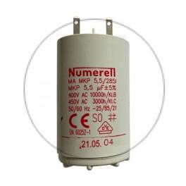 Condensateur à cosse 5.5 µF - compatible volet roulant SOMFY