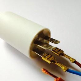 Condensateur permanent moteur à cosse 4,5 µF - 450 VAC - Icar Ecofil WB4045