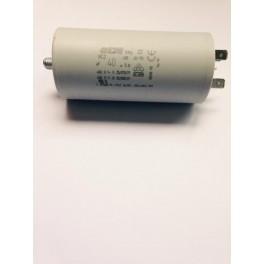 Condensateur permanent moteur à cosses 40 µF  450VAC  Icar Ecofil WB40400
