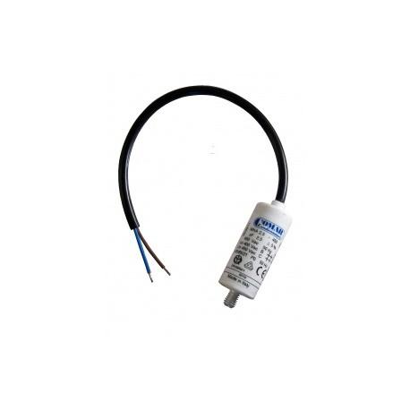 Condensateur permanent moteur à fils  2.5 µF COMAR Diamètre 25mm