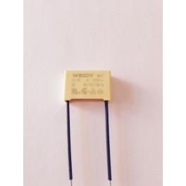 Condensateur 0.1µF ( MF) 310VAC X1