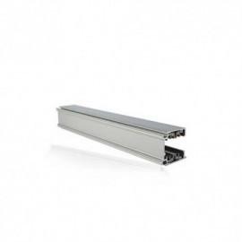 Rails triphasés aluminium argent  230V  1 M (2)