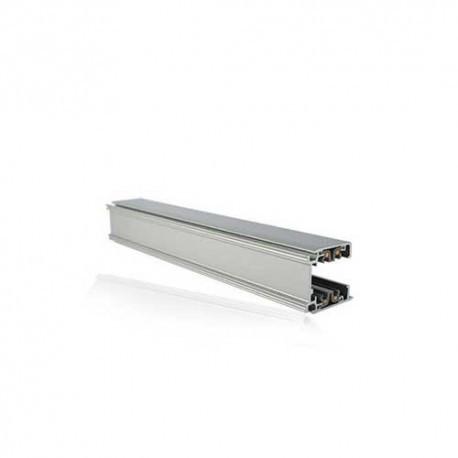 Rails triphasés aluminium argent 230V 2 M (10)