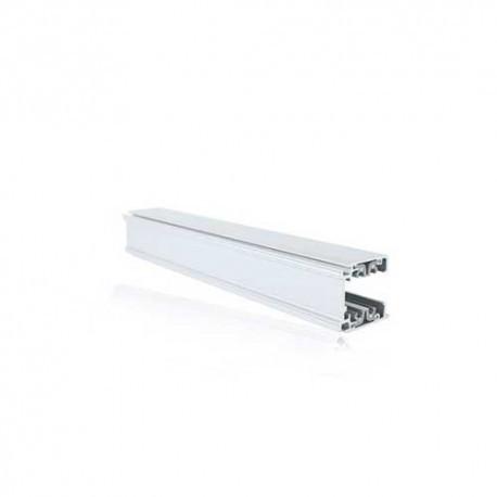 Rails triphasés aluminium blanc  230V  3 M (10)