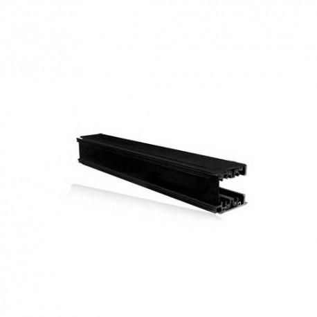 Rails triphasés aluminium noir  230V  2 M (10)