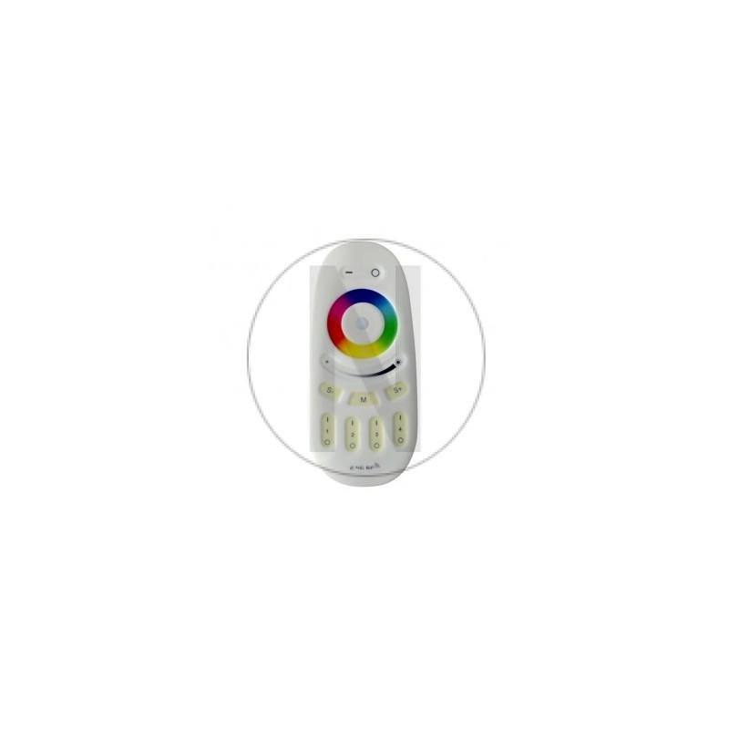 TÉLÉCOMMANDE RF 4 ZONES RGBW POUR BANDEAUX LED, AMPOULES, SPOTS