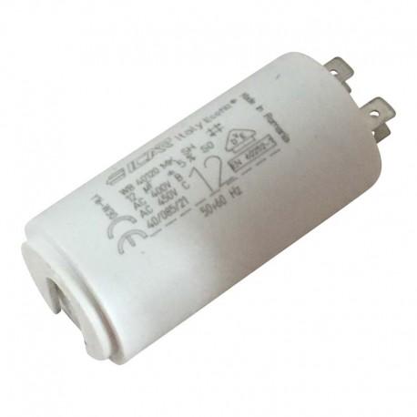 Condensateur permanent moteur à cosse 12 µF Catalogue   Produits