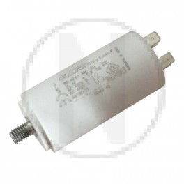 Condensateur permanent moteur à cosse 16 µF 450VAC - Icar Ecofil WB40160