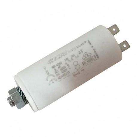 Condensateur permanent moteur à cosse 8 µF - 450 VAC - Icar Ecofil WB4080