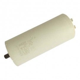 Condensateur permanent moteur à cosse 75 µF Catalogue   Produits