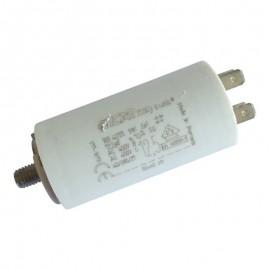 Condensateur permanent moteur à cosse 12.5 µF - 450 VAC - Icar ecofil WB40125