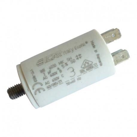 Condensateur permanent moteur à cosse 3 µF