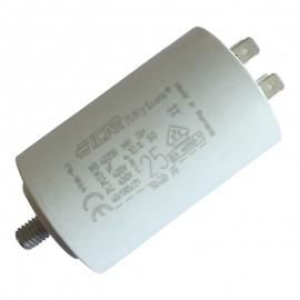 Condensateur permanent moteur à cosse 450VAC 25 µF ICAR ECOFIL WB40250