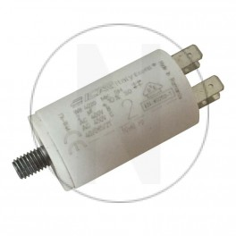 Condensateur permanent moteur à cosse 2 µF Catalogue   Produits