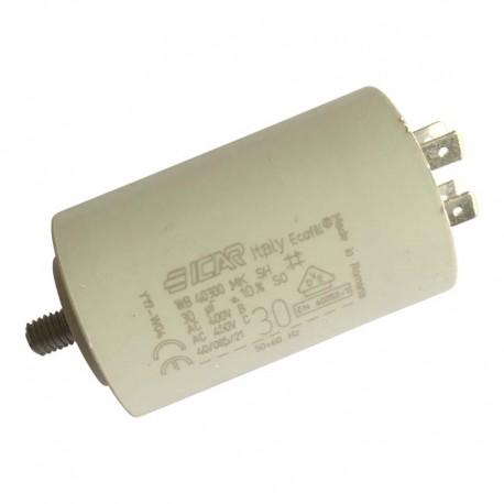 Condensateur permanent moteur à cosse 30 µF Catalogue Produits