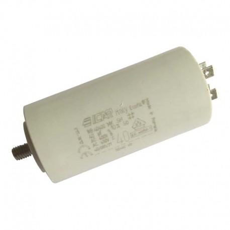 Condensateur permanent moteur à cosses 40 µF