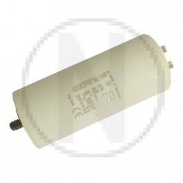 Condensateur permanent moteur à cosse 70 µF - 450 VAC - Icar ecofil WB40700