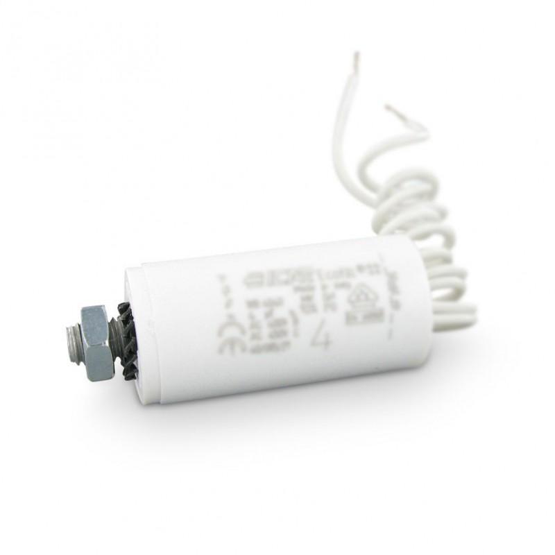 Condensateur Permanent Moteur À Fils 6 Μf Pour Volet Roulant
