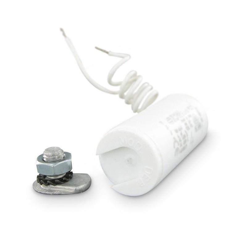 condensateur permanent moteur fils 7 f pour volet. Black Bedroom Furniture Sets. Home Design Ideas