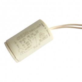 Condensateur permanent moteur à fils 7µF pour volet roulant Bubendorff