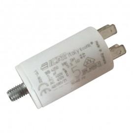 Condensateur permanent moteur à cosse 5 µF Catalogue Produits