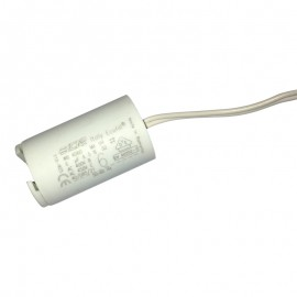 Condensateur permanent moteur à fils 6 µF pour volet roulant Bubendorff