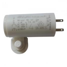 Condensateur permanent moteur à cosse 4 µF