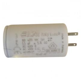 Condensateur permanent moteur à cosse 5.5 µF Catalogue   Produits