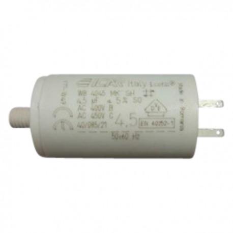 Condensateur permanent moteur à cosse 4.5 µF
