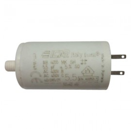 Condensateur permanent moteur à cosse 5.5 µF