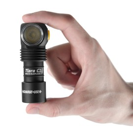 Lampe de poche frontal avec batterie rechargeable Armytek Tiara C1 Aimant USB + Batterie 18350