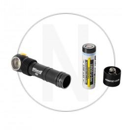 Lampe de poche frontal avec batterie rechargeable Armytek Wizard Pro Aimant USB + 18650