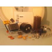 Condensateurs chimiques, céramiques, tantales